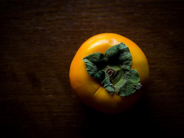 orange, persimmon