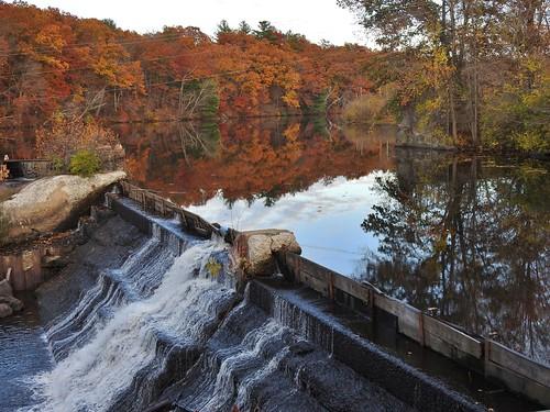 reflection waterfalls