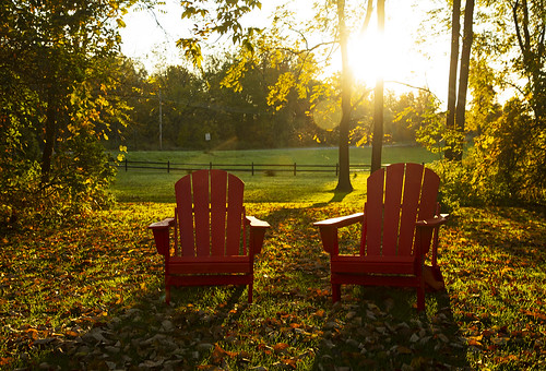 tgif friday coleswindell chillin it chill lazy fall autumn peaceful morning sunrise calm calming chairs adk adirondack country rural life home canon 2019