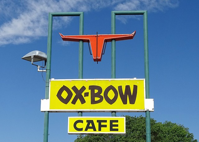 ID, Bliss-ID 30(Old) Ox Bow Cafe Sign