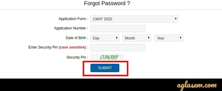 CMAT 2020 Application Form