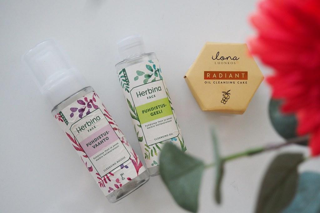 Kuukauden loppuneet kosmetiikkatuotteet lokakuu