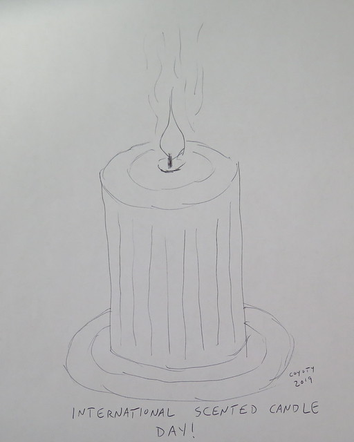 Inktober 32, 2019: International Scented Candle Day