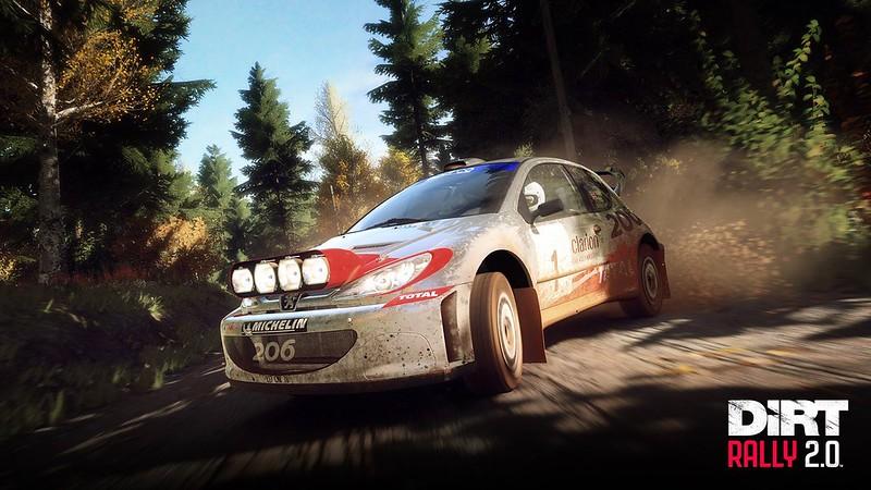 Dirt Rally 2 Peugeot 206