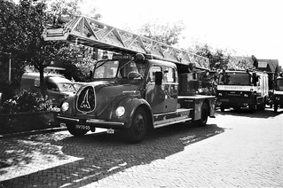 Magirus-Deutz Mercur 125 autoladder 1965