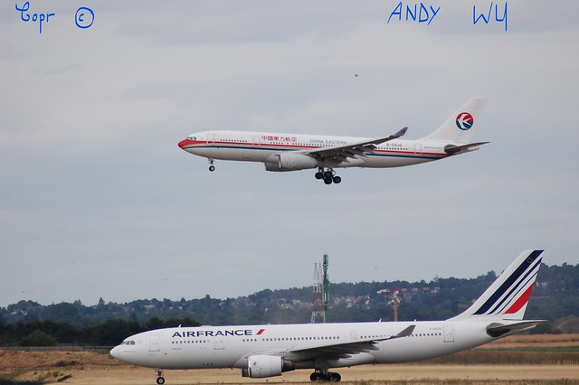 Airbus A330 China Eastern Airlines (08/05/2019)