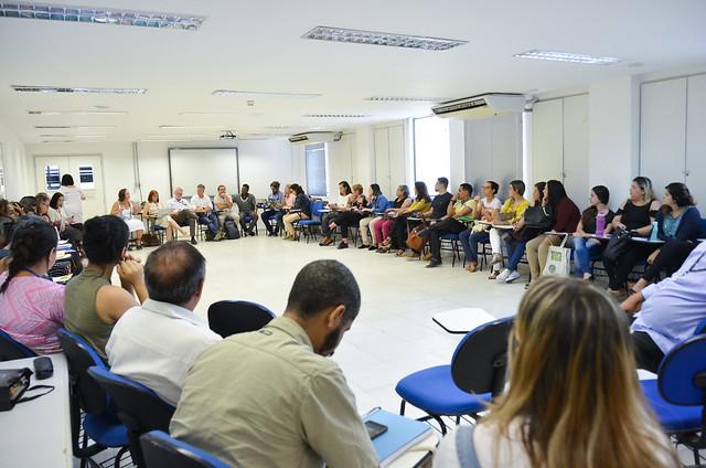 Reunião com a Fiocruz e instituições sobre derramamento de óleo nas praias