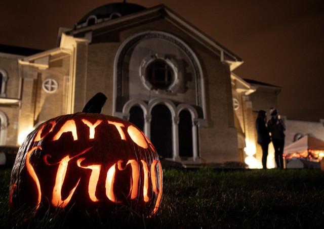 Dayton Strong at Stoddard Ave. Pumpkin Glow
