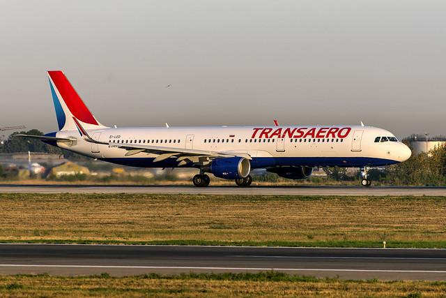 Transaero A321