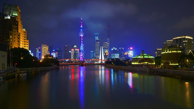 Shanghai - Suzhou Creek Reflections
