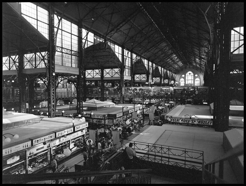 Budapest Market B&W