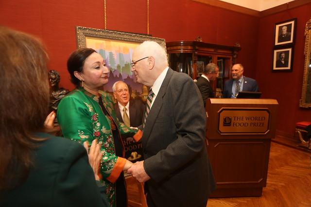Ambassador Quinn's Portrait Dedication