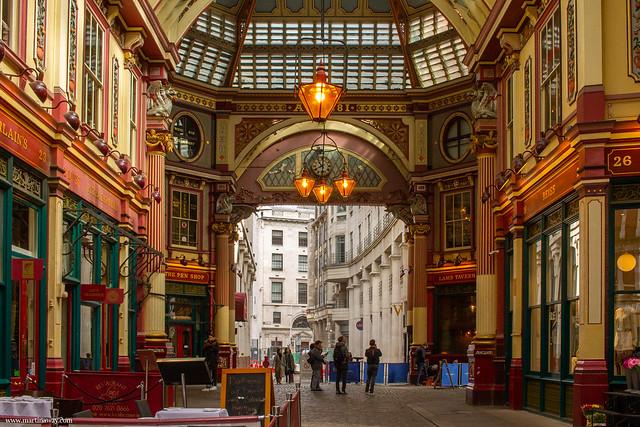 Leadenhall Market mercati di Londra