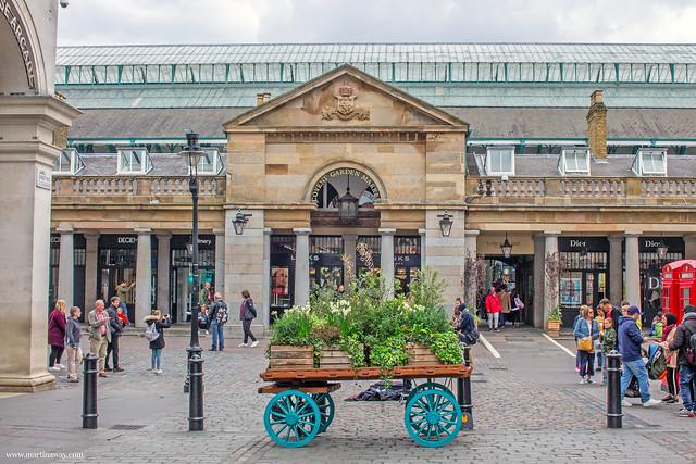 Covent Garden,  mercati di Londra