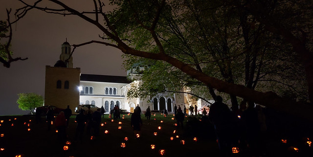 Pumpkin Glow at the Annunciation Greek Orthodox Church, Dayton