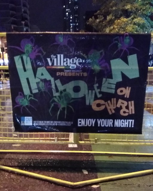 Halloween in the Village (2) #toronto #churchandwellesley #halloween