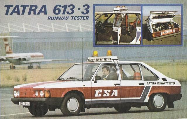 Tatra 613-3 Runway Tester