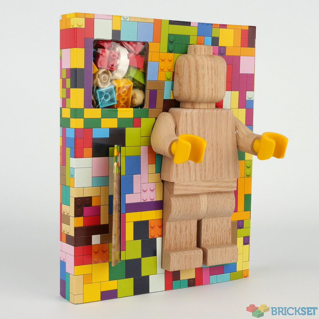 The wooden minifigure is available now