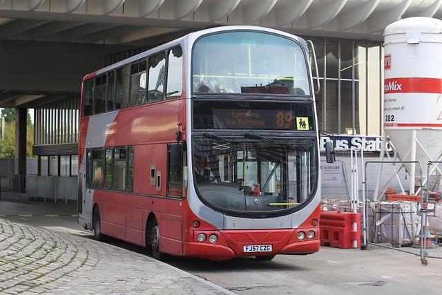 Preston Bus Wright Eclipse Gemini Volvo B9TL 40503 FJ57 CZG