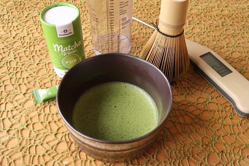 Matcha-Tee (fertig)
