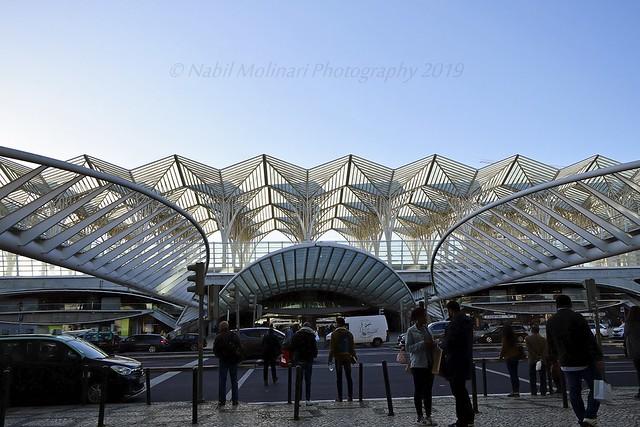 Cityscape : Centro Vasco da Gama, Estação do Oriente, Lisboa