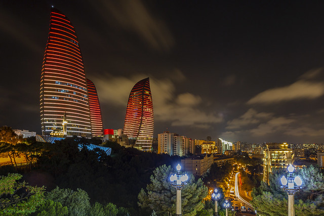 Baku and the Flame Towers