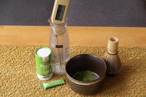 Matcha-Tee (Vorbereitung)
