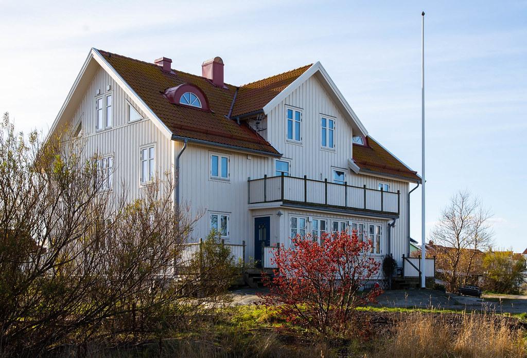 Big house on Käringön Island