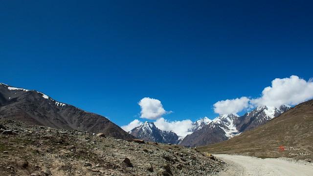 On The Way To Kunzum Pass ( 15 Mins Before )