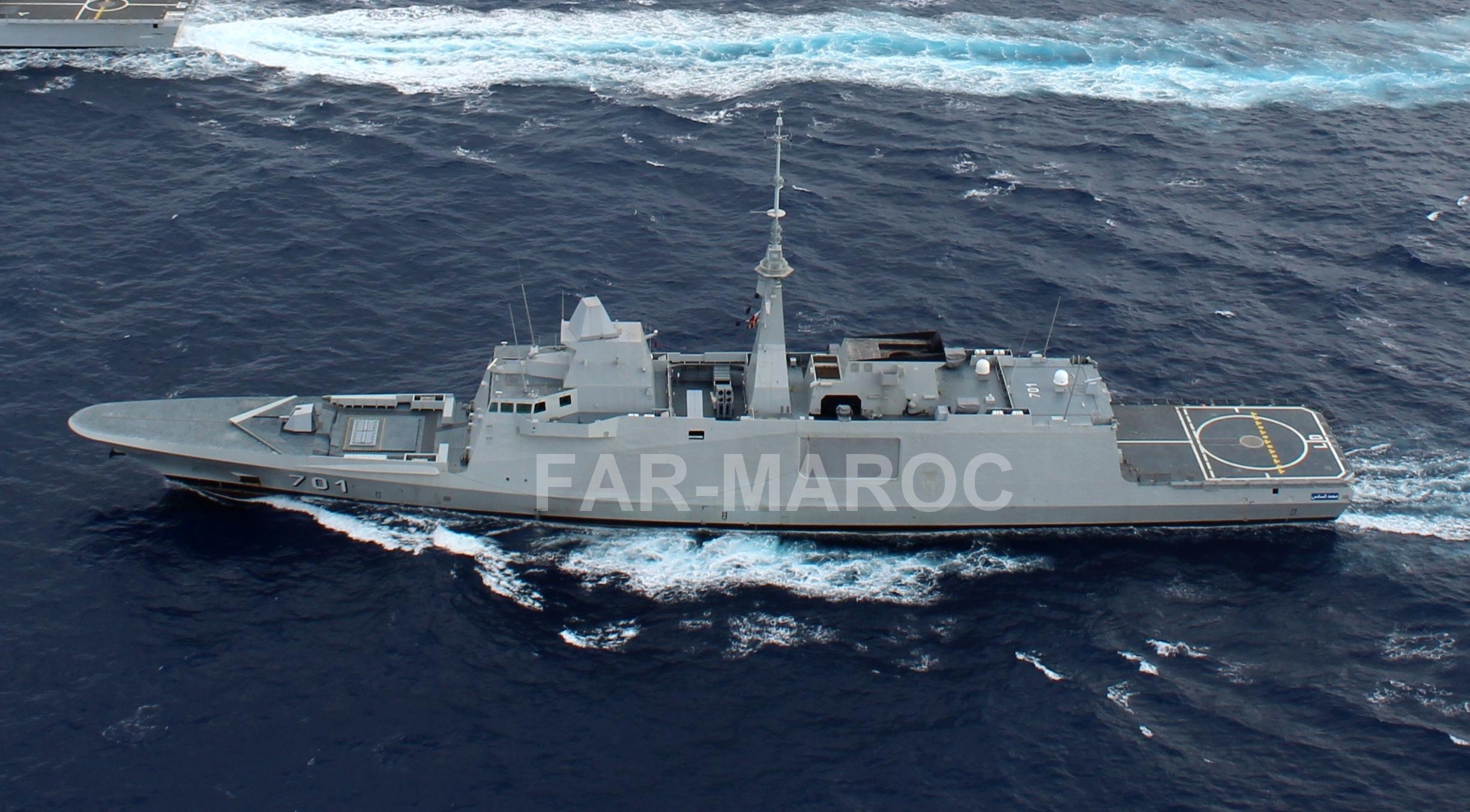 Royal Moroccan Navy FREMM Frigate / FREMM Marocaine - Mohammed VI - Page 13 48997126203_7178f2fd6b_o
