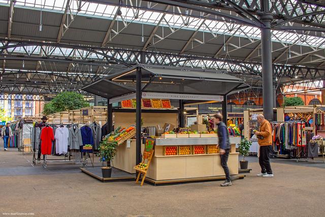 Old Spitalfields Market, mercati di Londra