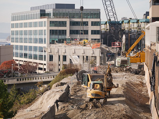 Home stretch of viaduct demolition near Lenora Street
