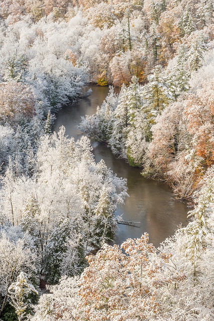 Early Snow, Manistee River