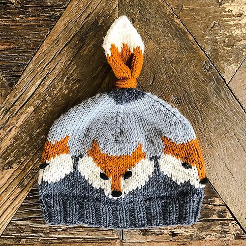 Fox Hat by Eva Norum Olsen