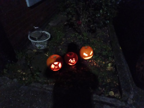 Halloween lanterns Oct 19