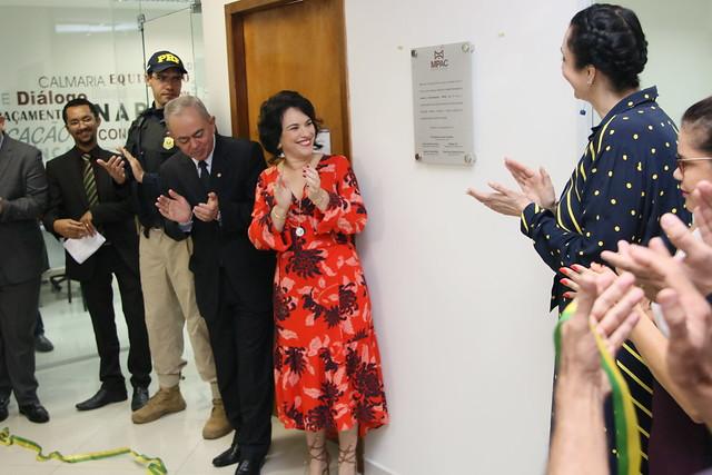 Inauguração do Núcleo Permanente de Incentivo à Autocomposição (NAPAZ)