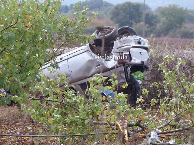incidente mortale sulla prov Gioia-Putignano
