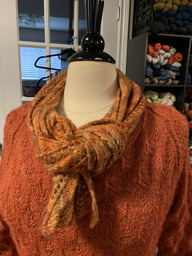 Barb's Favorite Scarf Ever by Lisa Bruce