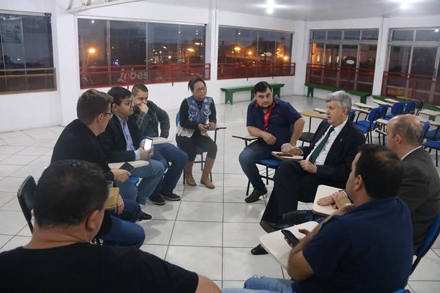 31/10/2019 Reunião com Lideranças Progressistas de Sapucaia do Sul