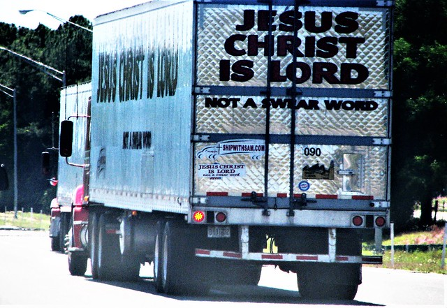 Jesus Christ is Lord and not a swear word 336