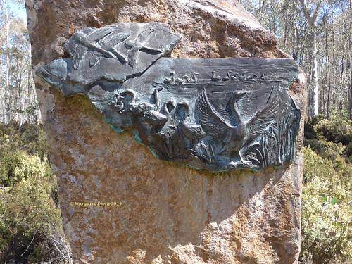 steppessculptures centralhighlands tasmania australia