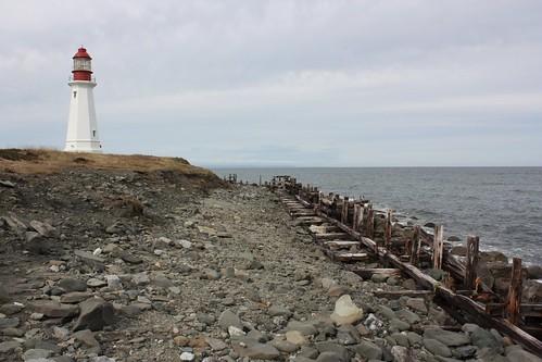 lighthouse newvictoria capebreton novascotia canada