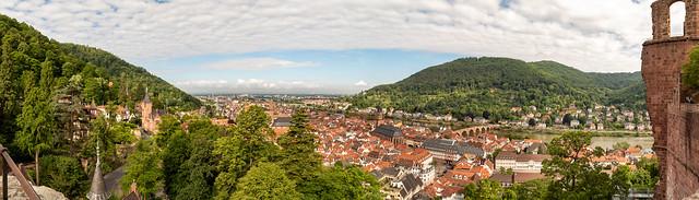 Heidelberg Germany Pano