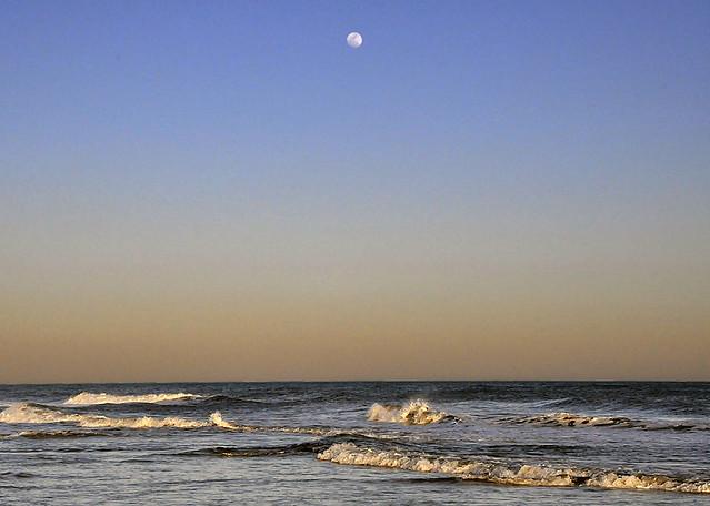 Twilight Moonrise