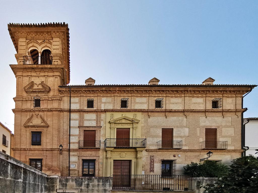 edificio exterior Museo de la Ciudad de Antequera antiguo Palacio de Najera Malaga