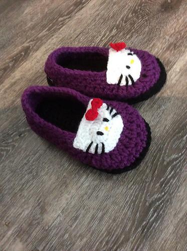 Catherine's Hello Kitty Booties