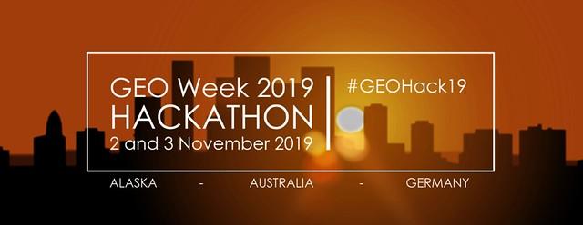 GEO Week 2019 Hackathon