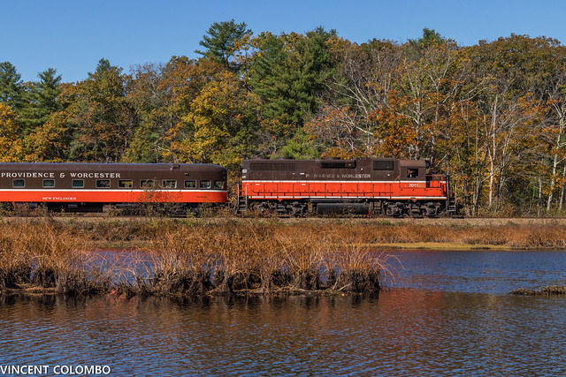 Passenger Special at Acme Pond