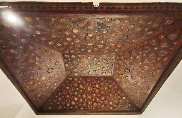 techo artesonado mudejar Museo de la Ciudad de Antequera Malaga