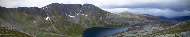 Lochnagar Corrie Panorama - Edited